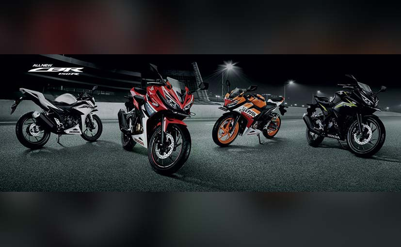 Honda CBR150R thong linh phan khuc 150 so voi dong huong Yamaha R15 va Suzuki GSXR150