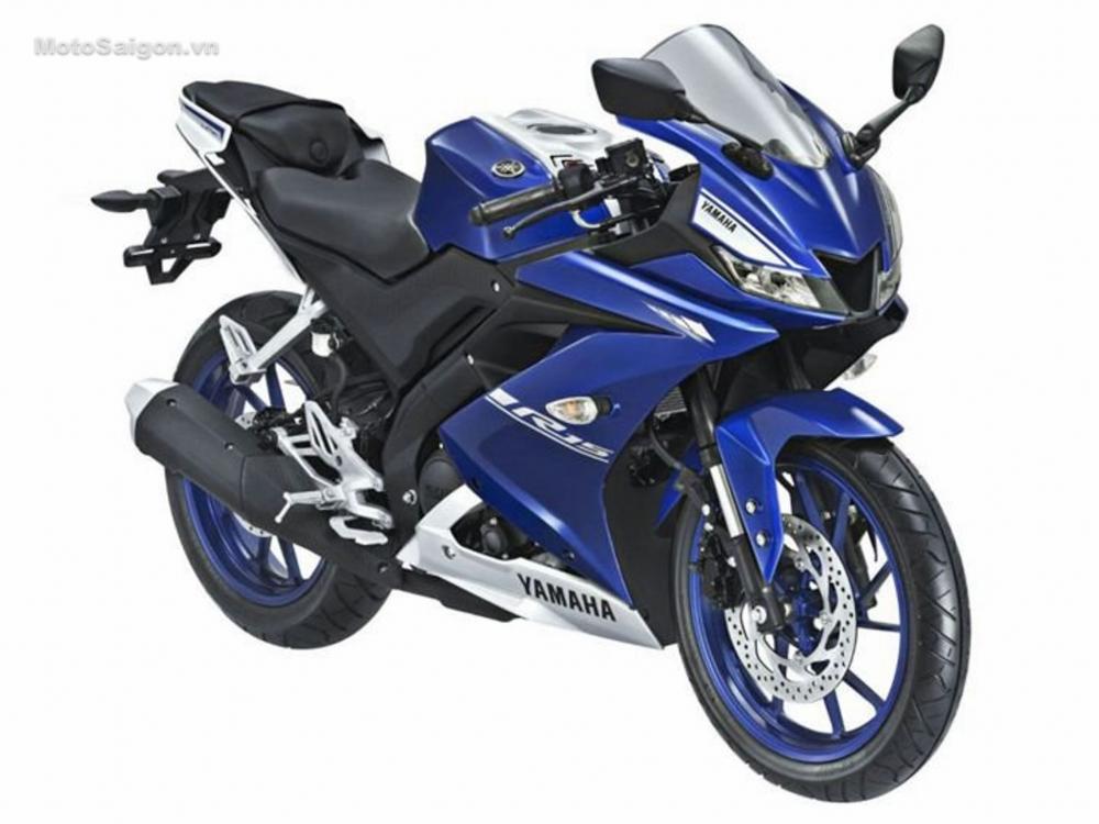 Honda CBR150R thong linh phan khuc 150 so voi dong huong Yamaha R15 va Suzuki GSXR150 - 4