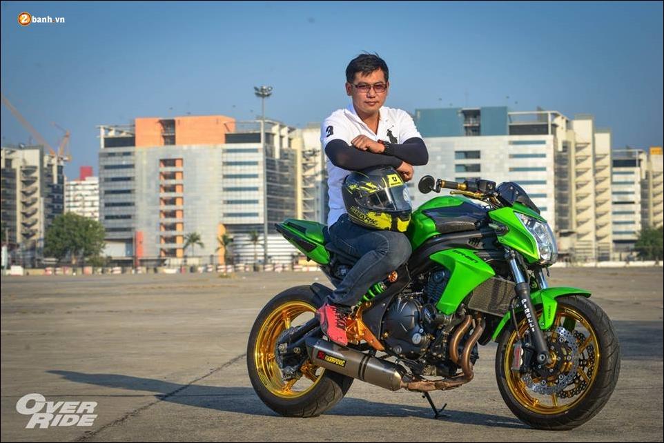 Kawasaki ER6n do nguoi khong lo xanh choi chang - 20