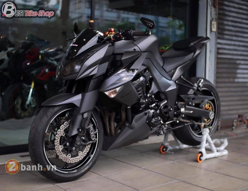 Kawasaki Z1000 day sac ben trong phien ban Matte Black - 3