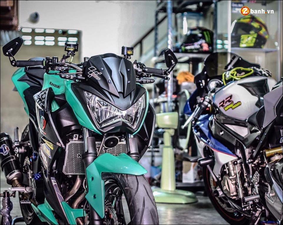 Kawasaki Z300 do mau moi cung loat do choi tinh te