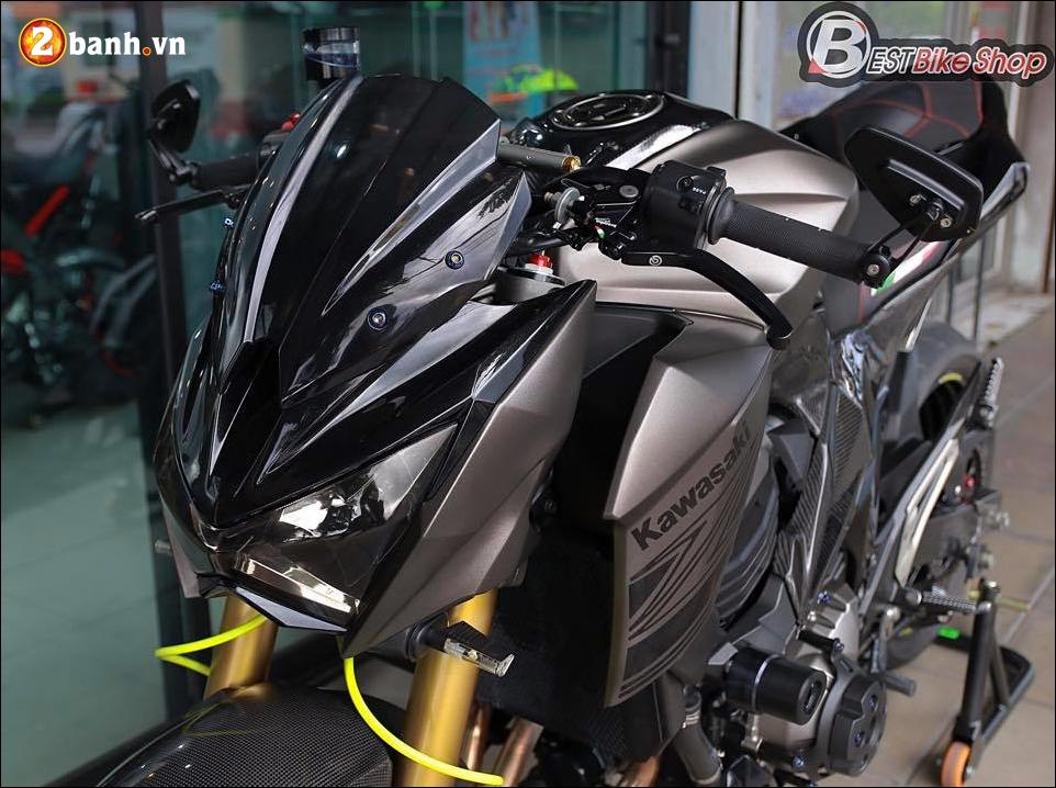 Kawasaki Z800 do nhe cung bo canh Matte Gray cung cap