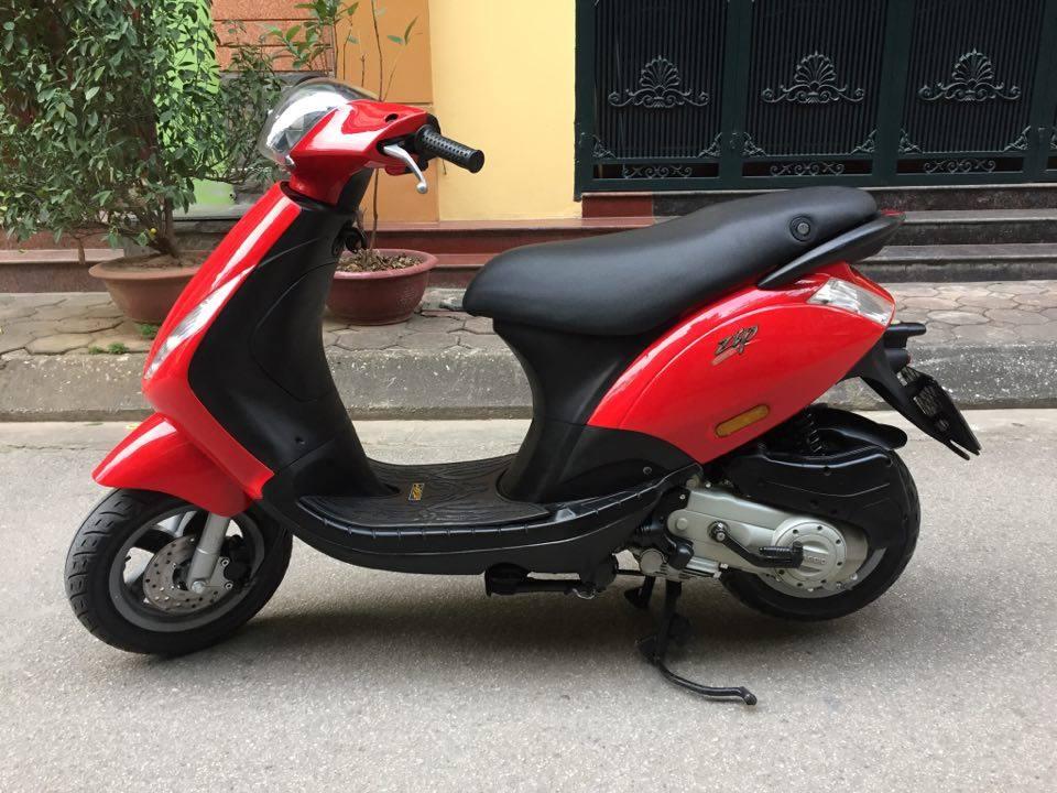 Minh co chiec xe muon ban Piaggio Zip100 nhap doi 2011 mau vang cam dang ky tai ha noi bien 30M8296 - 3