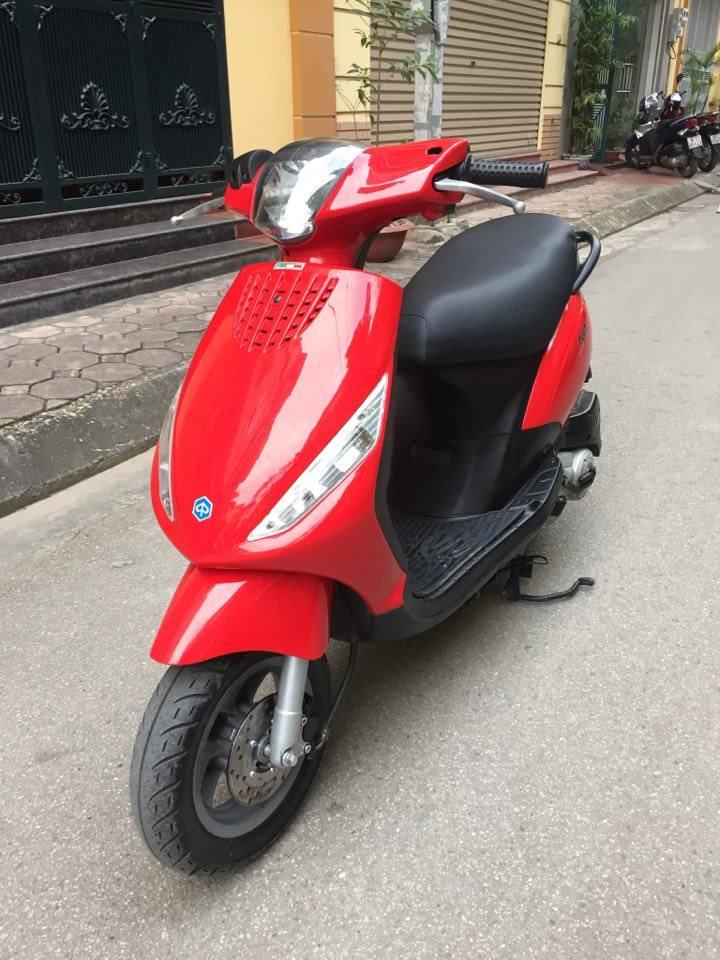 Minh co chiec xe muon ban Piaggio Zip100 nhap doi 2011 mau vang cam dang ky tai ha noi bien 30M8296 - 4