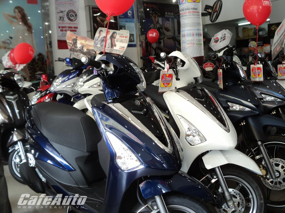 Mua ban xe may chinh hang Yamaha Honda gia re - 4