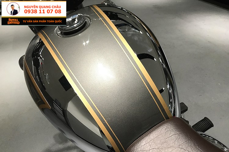 Ban xe ROYAL ENFIELD CLASSIC 500 mau Chrome LH NGUYEN QUANG CHAU 0938 11 07 08 - 8