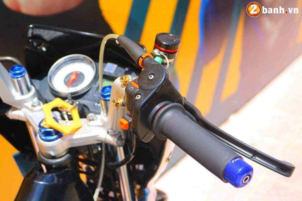 Raider 150 do kieng buc pha nhe day an tuong cua biker Viet