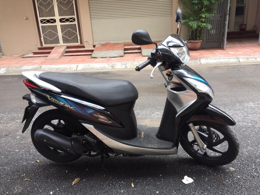 Rao ban Honda Vision fi 2012 Den bac chinh chu dung 21tr - 4