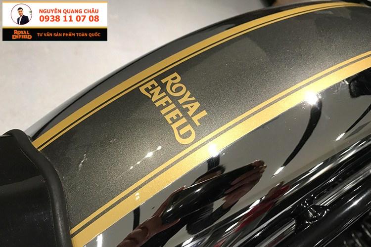 ROYAL ENFIELD CLASSIC 500 mau CHROME PHIATE SANG LH NGUYEN QUANG CHAU - 12