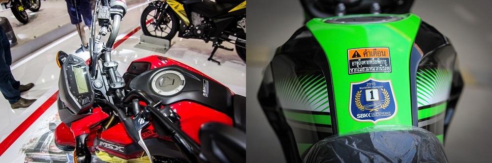 So sanh Honda MSX 2017 voi Kawasaki Z125 Pro - 7