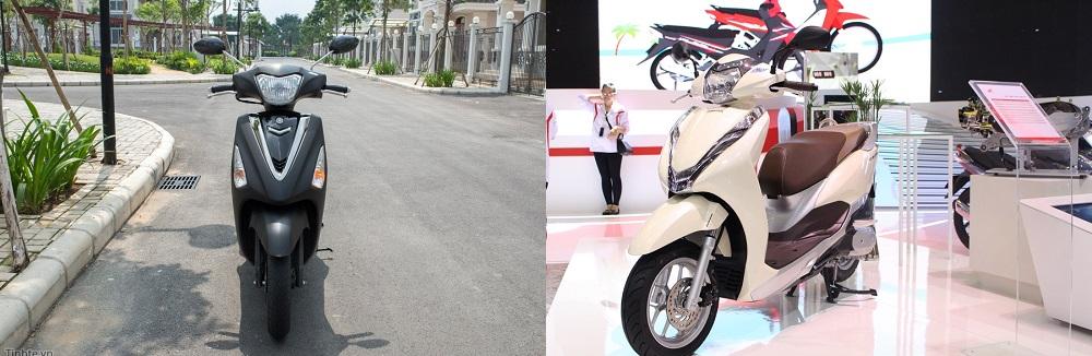 So sanh Yamaha Acruzo 2017 voi Honda Lead 2017 nen chon mau xe nao - 5