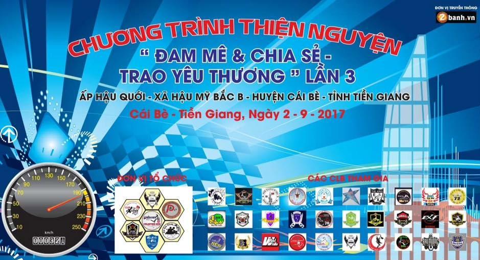 Team Exciter Volunteer HCM Dam me chia se trao yeu thuong lan III