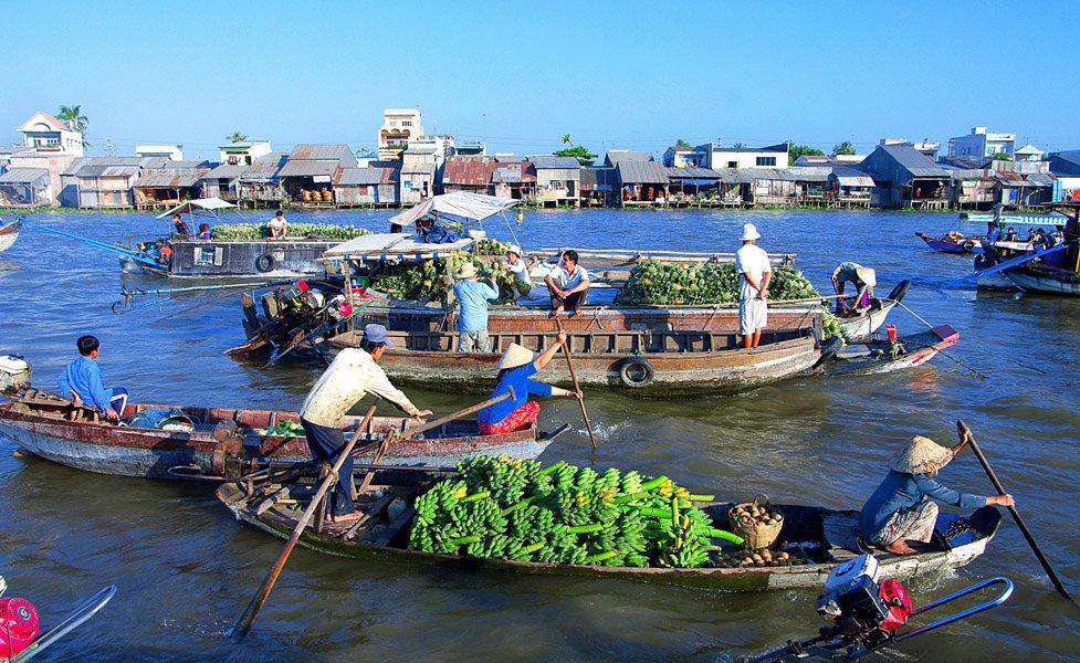 Trai nghiem day thu vi o cho Noi Cai Rang khi du lich Can Tho - 7