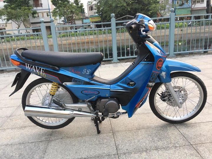 Wave Alpha do nhe cuc dinh cua biker Sai Gon - 3