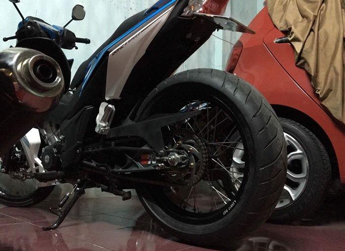 Winner 150 do an tuong voi dan chan KHUNG cua biker Viet - 5