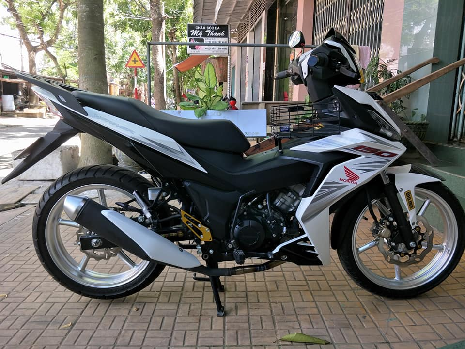 Winner 150 do kieng day cung cap cua biker An Giang