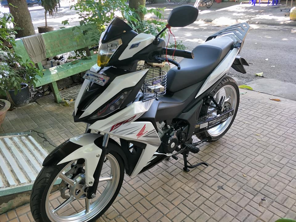 Winner 150 do kieng day cung cap cua biker An Giang - 4