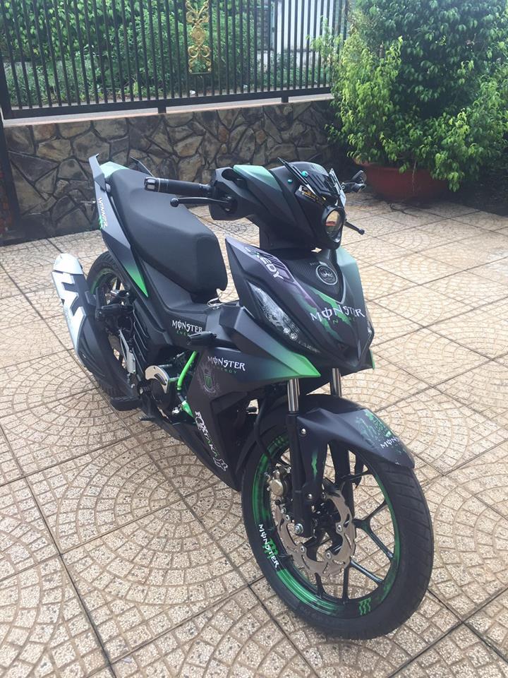 Winner 150 do kieng sieu ngau cua biker Long Khanh - 6