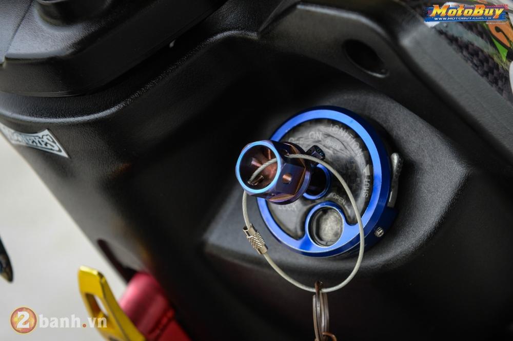 Yamaha BWS phong cach VR46 voi goi nang cap cuc doc cua biker Dai Loan - 6