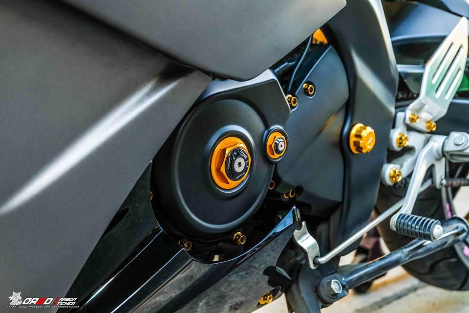 Yamaha R15 do kieng nhe khoe dang cua biker nuoc ban - 9