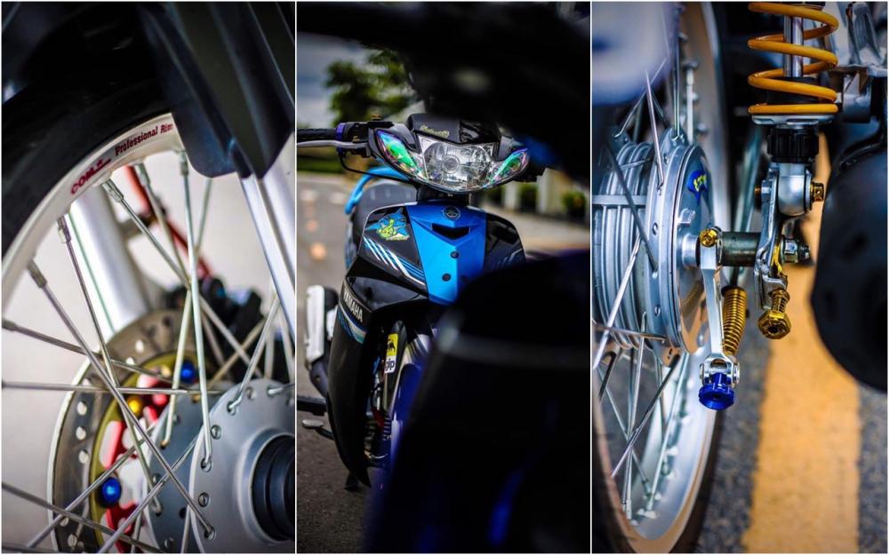Yamaha Sirius do kieng day phong do cua biker Kien Giang