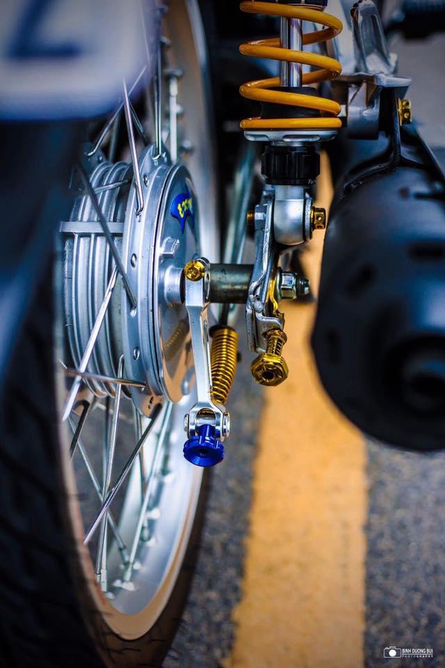 Yamaha Sirius do kieng day phong do cua biker Kien Giang - 8