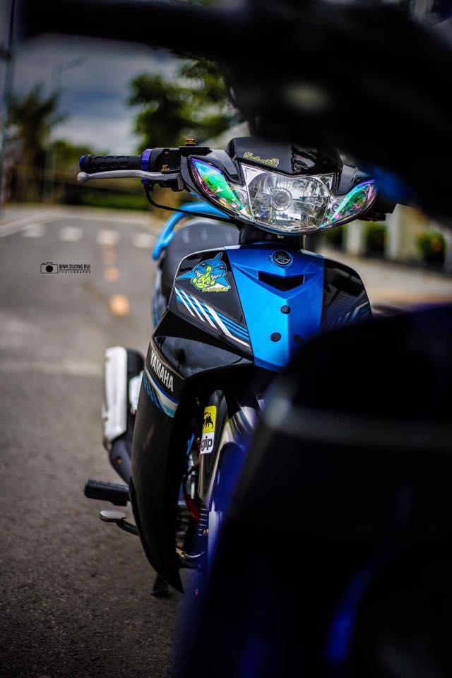 Yamaha Sirius do kieng day phong do cua biker Kien Giang - 10