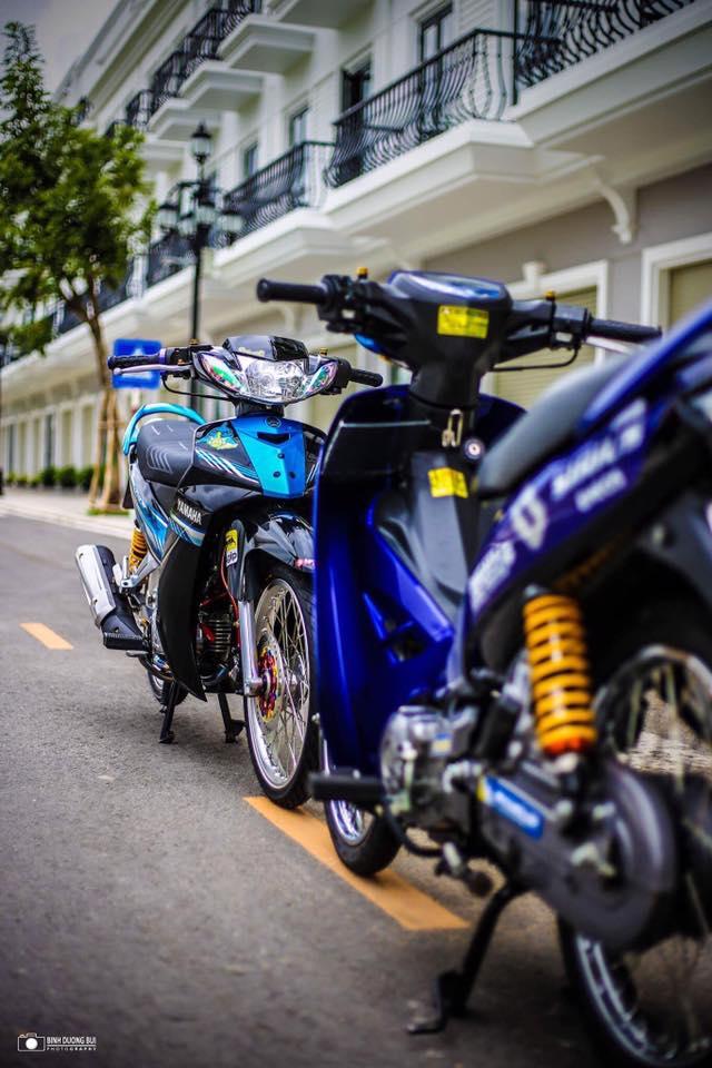Yamaha Sirius do kieng day phong do cua biker Kien Giang - 12