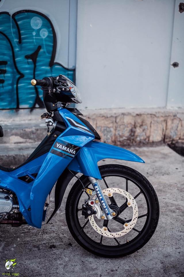 Yamaha Sirius do kieng dep lung linh cua biker Lam Dong - 6