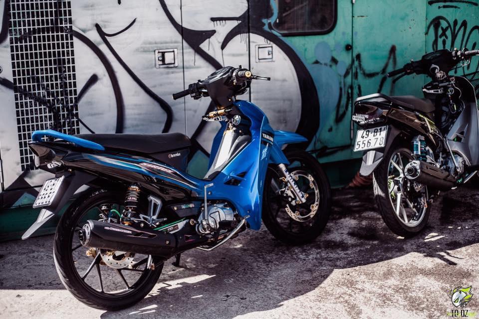 Yamaha Sirius do kieng dep lung linh cua biker Lam Dong - 8