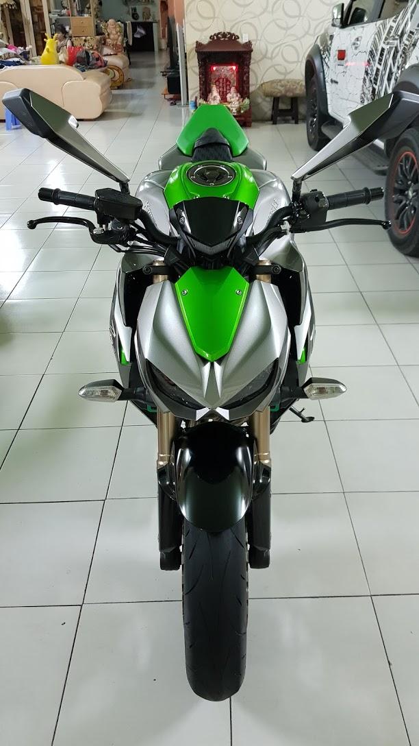 Ban Kawasaki Z1000ABSHQCNSaigon52014odo 12KLong lanh zin toan tap - 2