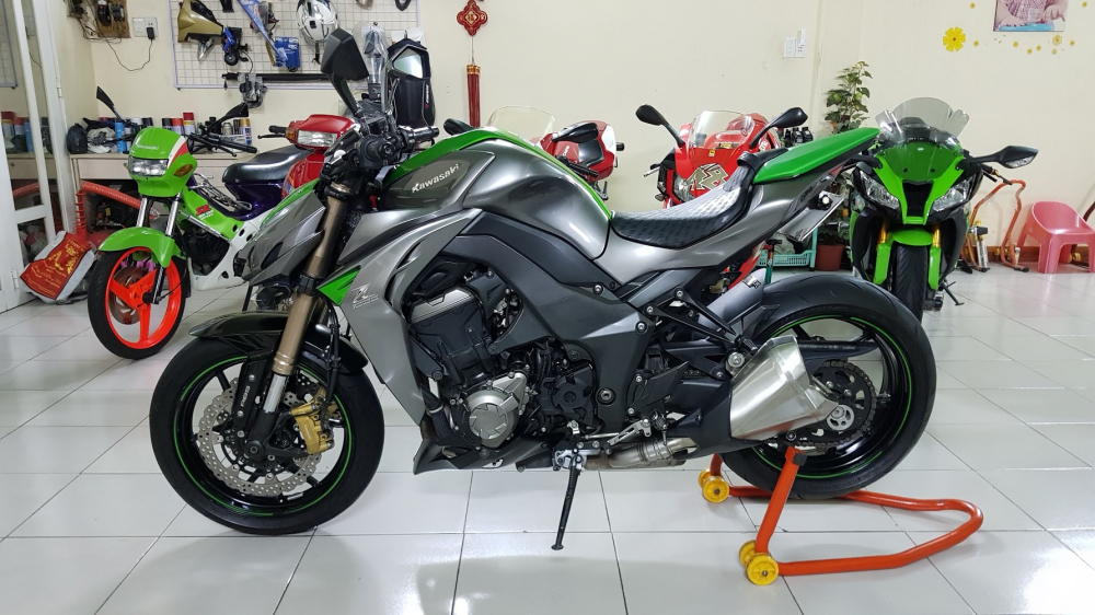 Ban Kawasaki Z1000ABSHQCNSaigon52014odo 12KLong lanh zin toan tap - 7