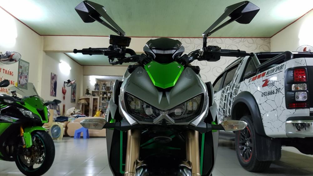 Ban Kawasaki Z1000ABSHQCNSaigon52014odo 12KLong lanh zin toan tap - 10