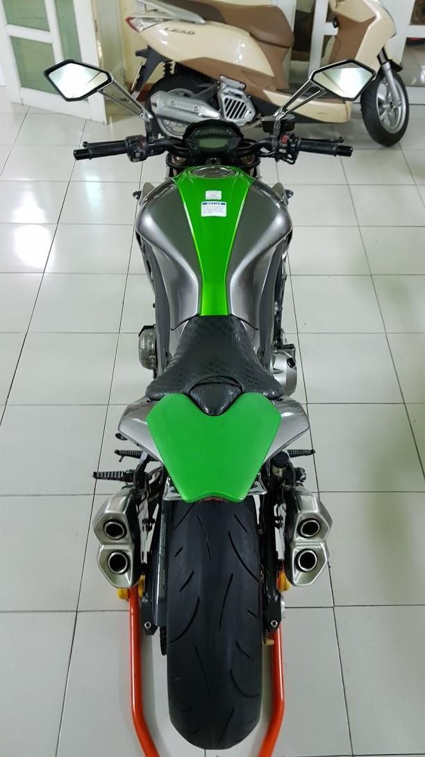 Ban Kawasaki Z1000ABSHQCNSaigon52014odo 12KLong lanh zin toan tap - 16