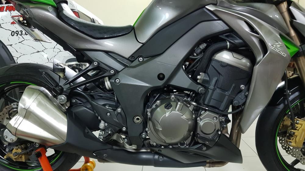 Ban Kawasaki Z1000ABSHQCNSaigon52014odo 12KLong lanh zin toan tap - 25
