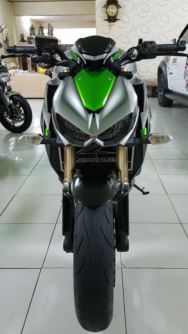 Ban Kawasaki Z1000 ABS xe HQCN bien so Saigon so dep 8 nut thang 62014 - 2