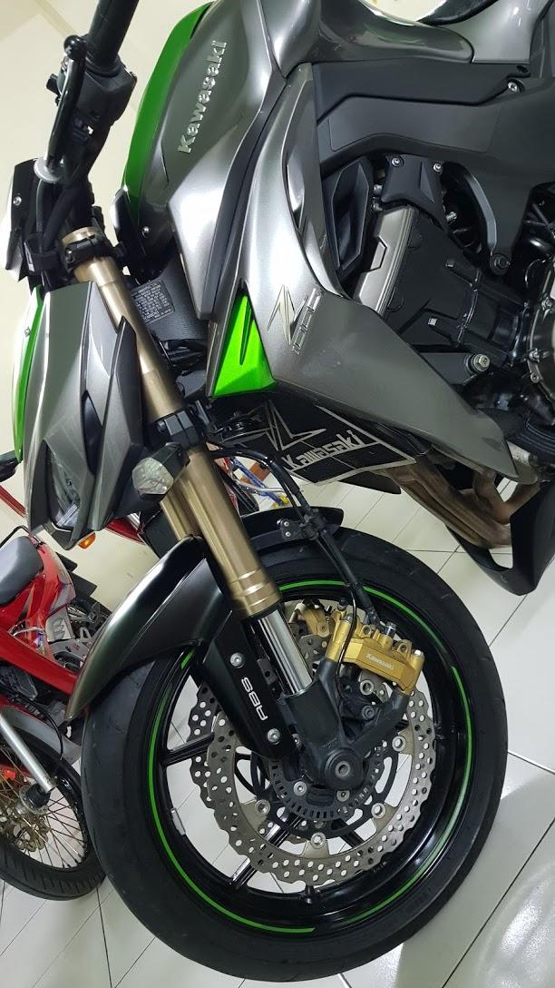 Ban Kawasaki Z1000 ABS xe HQCN bien so Saigon so dep 8 nut thang 62014 - 6