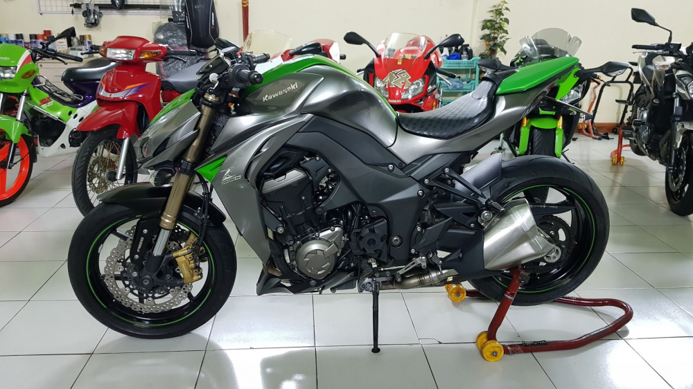 Ban Kawasaki Z1000 ABS xe HQCN bien so Saigon so dep 8 nut thang 62014 - 10