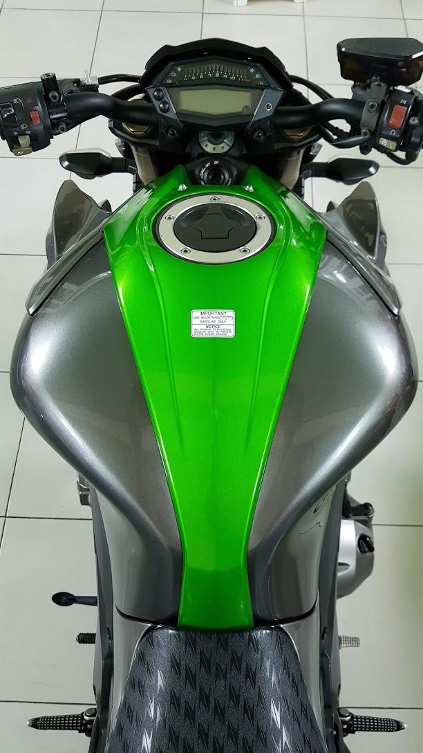 Ban Kawasaki Z1000 ABS xe HQCN bien so Saigon so dep 8 nut thang 62014 - 17