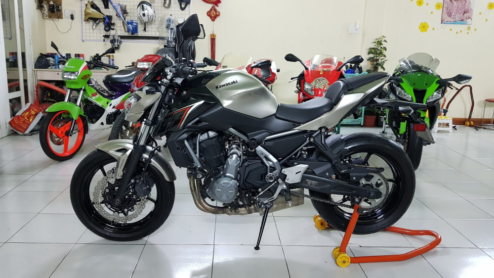 Ban Kawasaki Z65052017ABSHQCNSaigon so depodo 1k8Chinh hang con bao hanh - 3