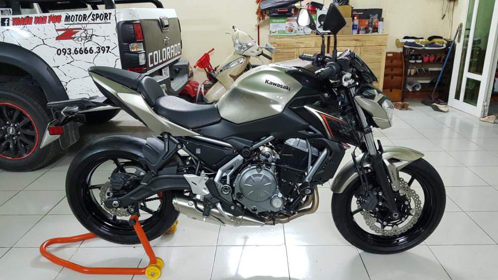 Ban Kawasaki Z65052017ABSHQCNSaigon so depodo 1k8Chinh hang con bao hanh - 9