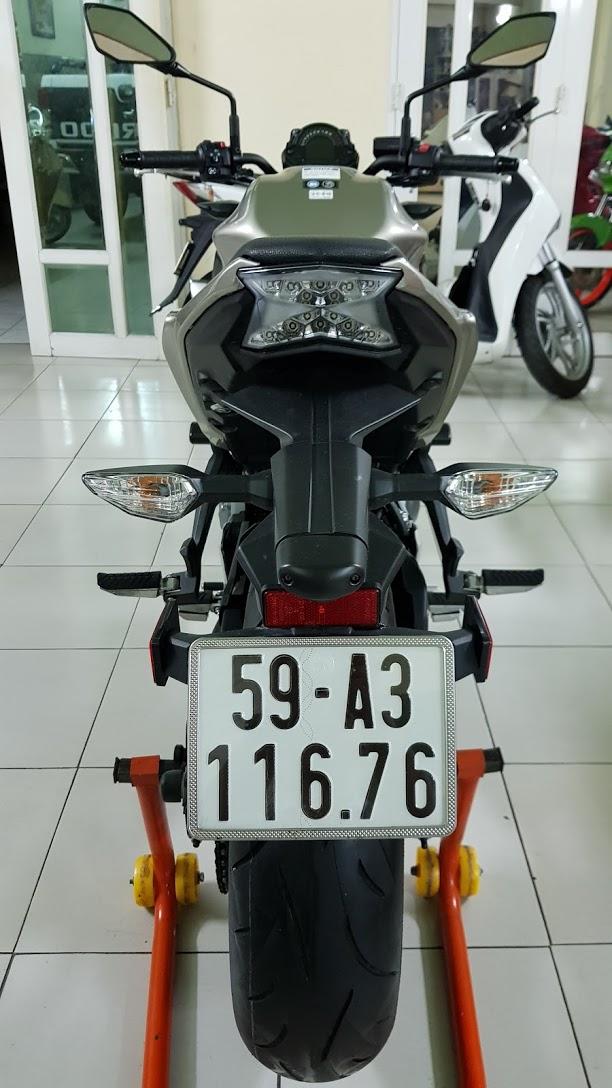 Ban Kawasaki Z65052017ABSHQCNSaigon so depodo 1k8Chinh hang con bao hanh - 14
