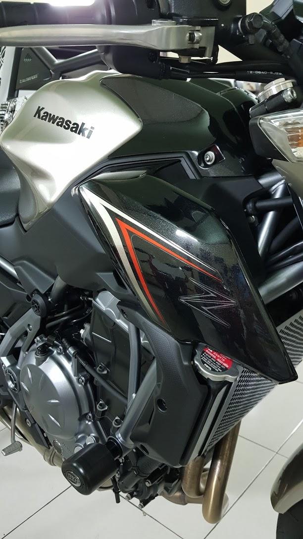 Ban Kawasaki Z65052017ABSHQCNSaigon so depodo 1k8Chinh hang con bao hanh - 15