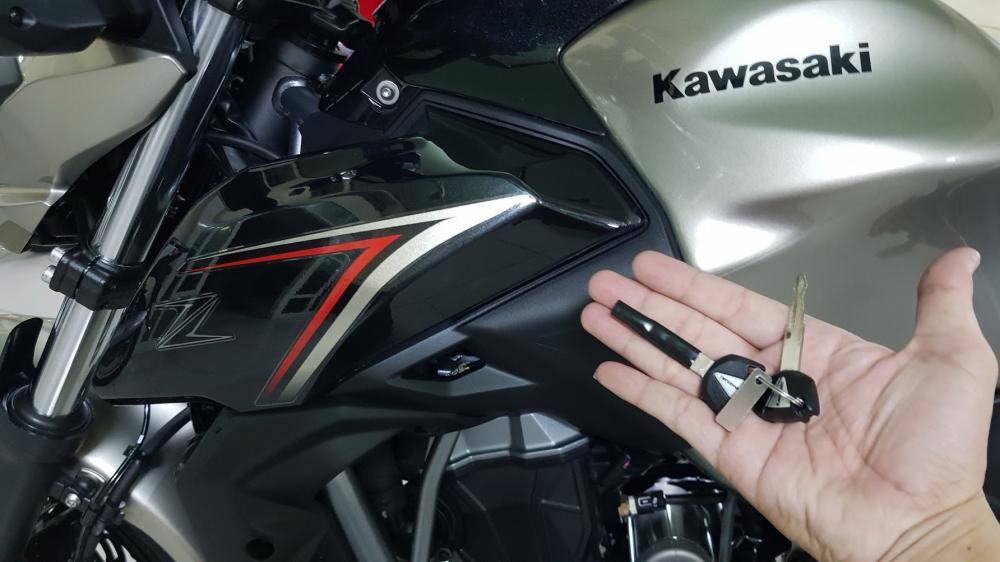 Ban Kawasaki Z65052017ABSHQCNSaigon so depodo 1k8Chinh hang con bao hanh - 26