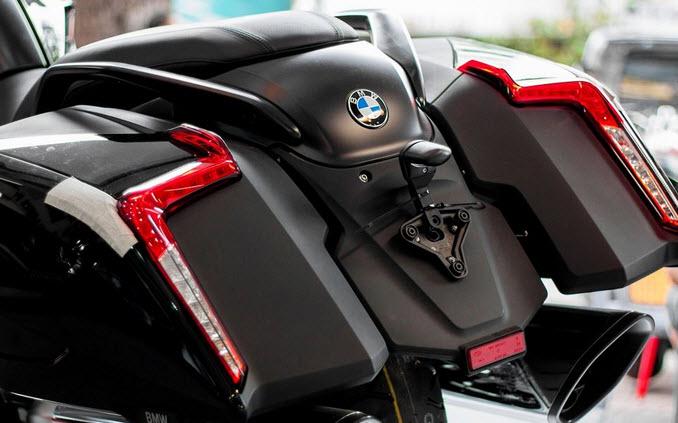 BMW K1600B 2018 dau tien cap cang Sai Gon voi gia 125 ty dong - 7