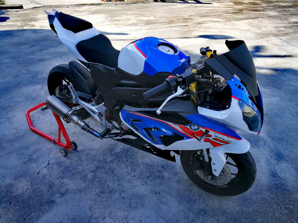 BMW S1000RR Ban do tu chiec Honda MSX 125cc kha doc dao