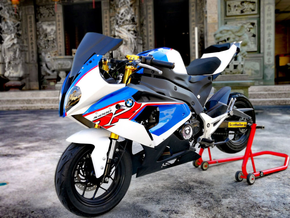 BMW S1000RR Ban do tu chiec Honda MSX 125cc kha doc dao - 10