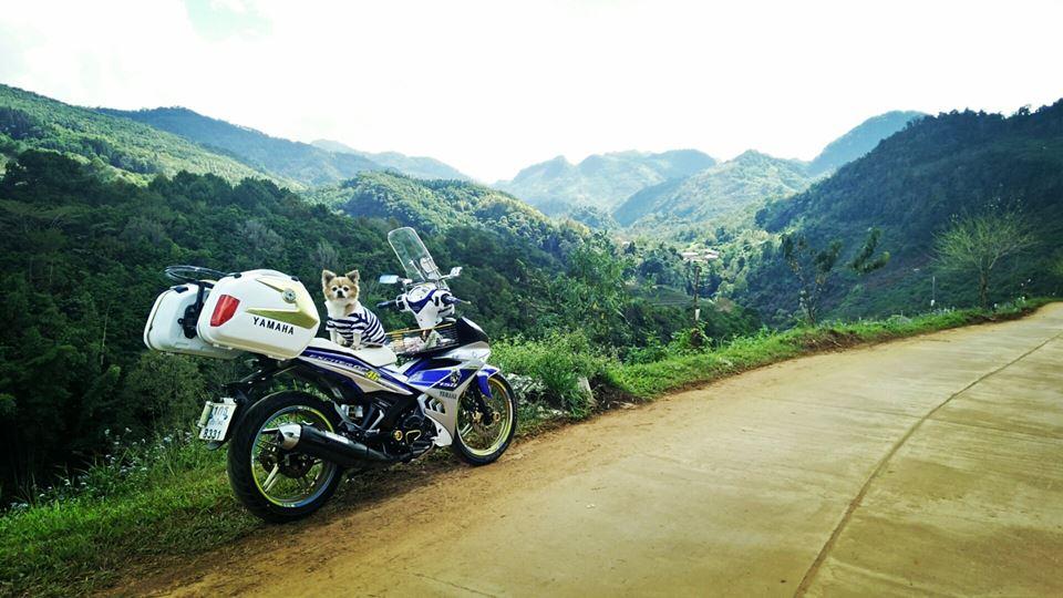 Bo anh chu cun dang yeu di phuot tren chiec Exciter 150 do cua biker nuoc ban - 9