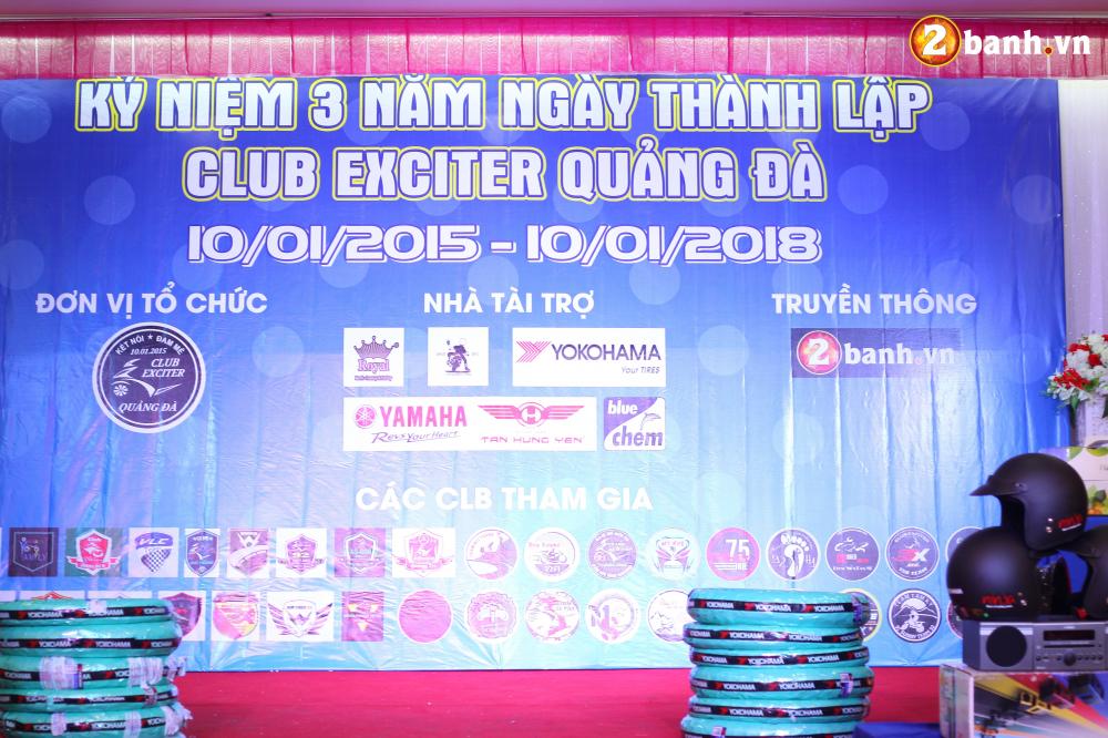 Club Exciter Quang Da mung sinh nhat lan III day hoanh trang