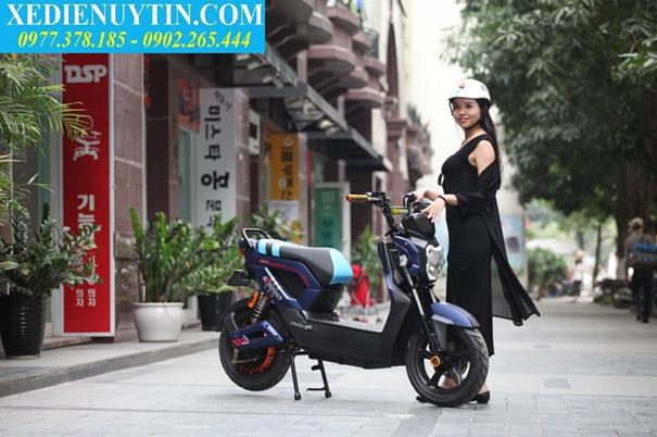 Danh gia xe may dien Zoomer Dibao 2017 chinh hang